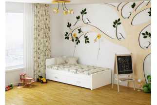 купить кровать для детской производства ами мебель в мебельных